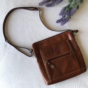 Giani Bernini leather crossbody bag
